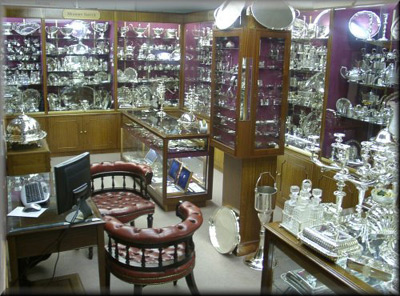 Online Antique Shops on Silver Uk  Sterling Silver   Bryan Douglas Antique Silverware Online