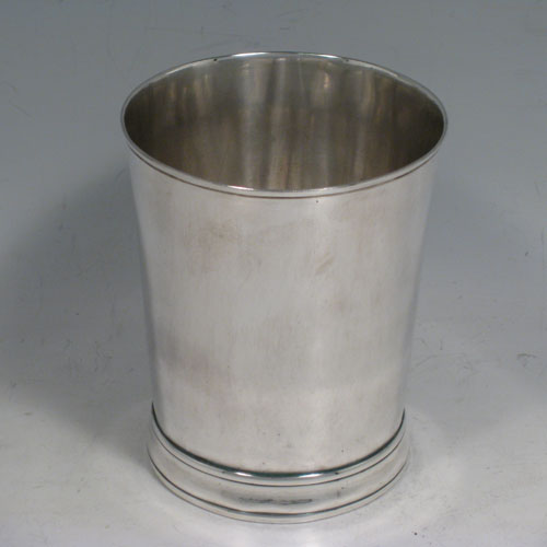 Antique Silver Beakers