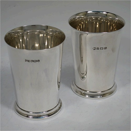 Beakers And Cups In Antique Sterling Silver Bryan Douglas