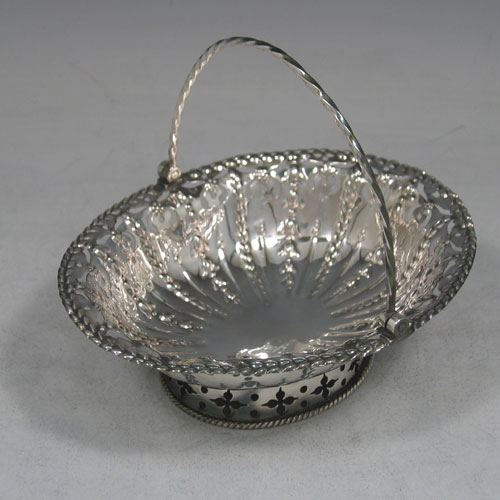 Antique Silver Bon Bon Dishes