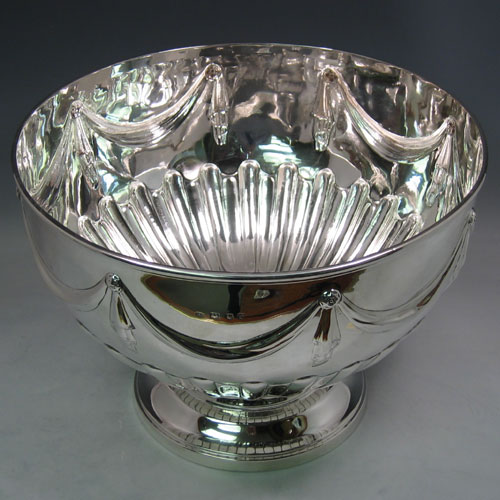 Antique Silver Large Sized Bowls