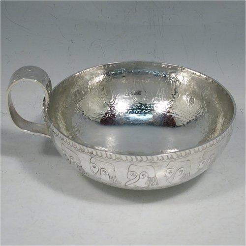 Bowls In Antique Sterling Silver Bryan Douglas Antique