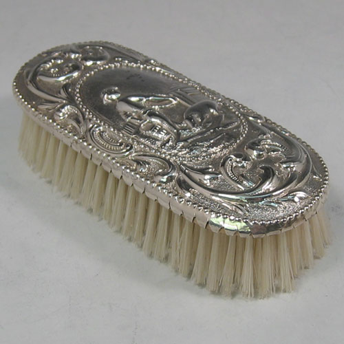Antique Silver Brushes