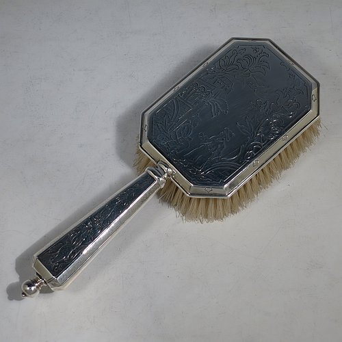 Brushes In Antique Sterling Silver Bryan Douglas Antique