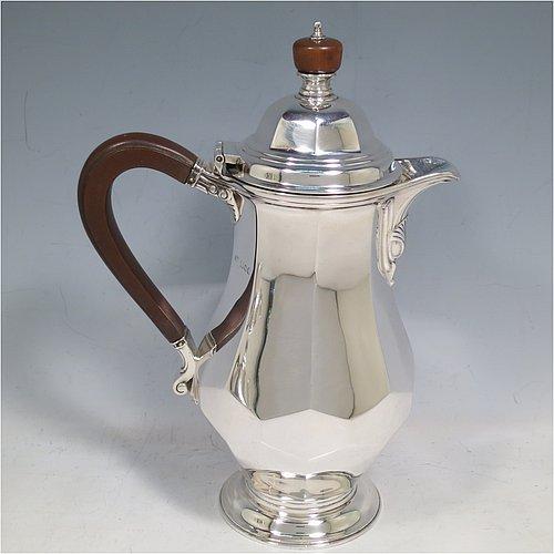 cafe au lait in antique sterling silver bryan douglas antique sterling silver cafe au lait