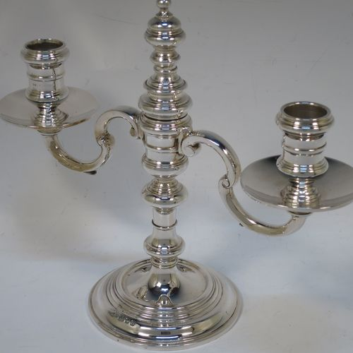 Candelabra In Antique Sterling Silver Bryan Douglas