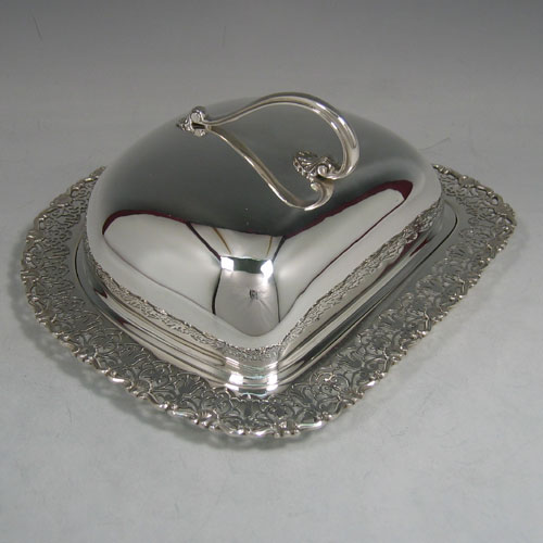 Antique Silver Cheese Dishes