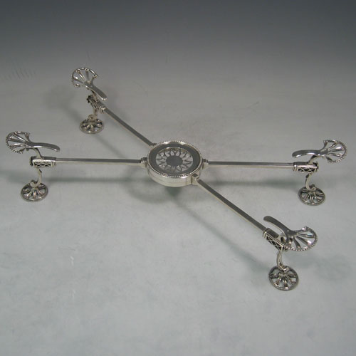 Antique Silver Dish Crosses