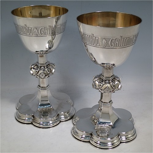 Antique Silver Chalices