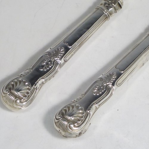 Fish Servers In Antique Sterling Silver Bryan Douglas