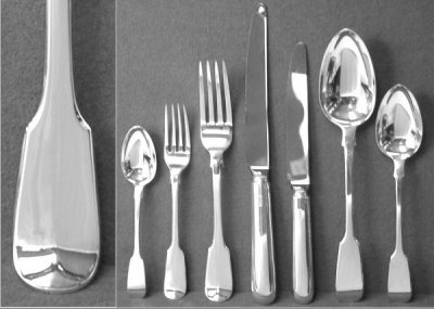 Silver Flatware Amp Cutlery Old English Antique Silver