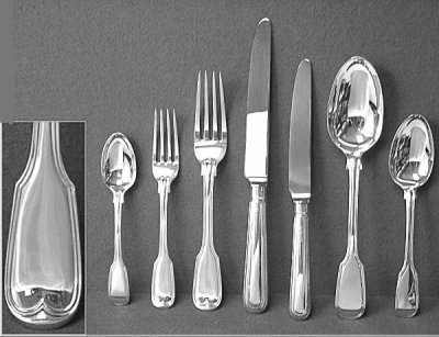Silver Flatware Amp Cutlery Old English Antique Silver Cutlery Silver Spoons Silver