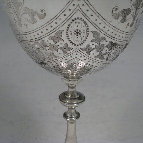 Goblets In Antique Sterling Silver Bryan Douglas Antique