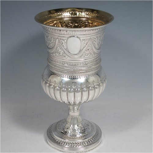 Goblets In Antique Sterling Silver Bryan Douglas Antique