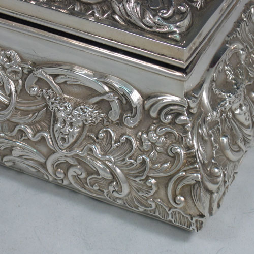 Antiques For Sterling Silver Jewelry Box Antique wwwantiqueslinkcom