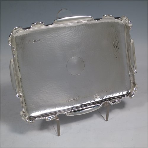 Antique Silver Pen Trays