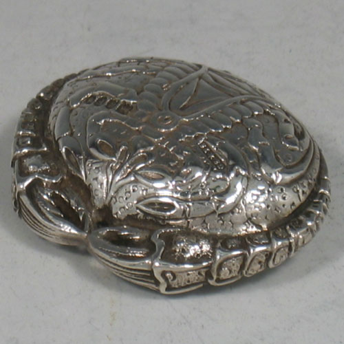 Antique Silver Pill Boxes