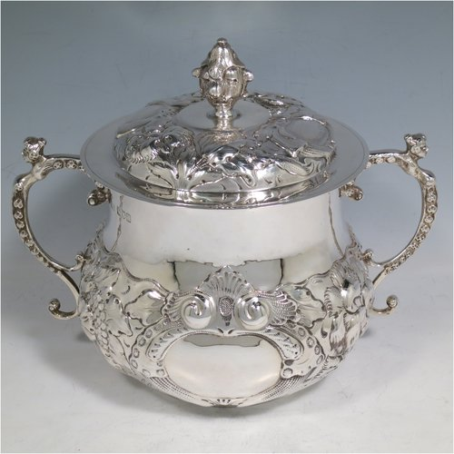 Antique Silver Poringers