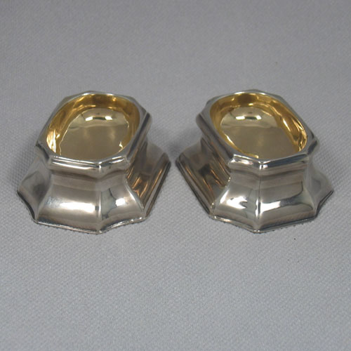 Antique Silver Salt Cellars