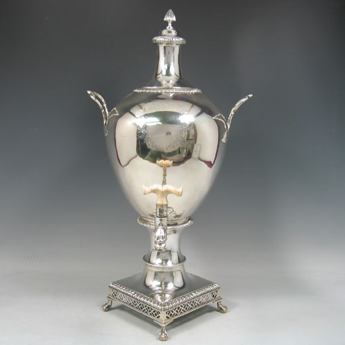 Antique Silver Samovars