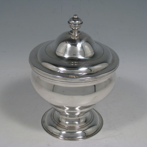 Antique Silver Sugar Bowls