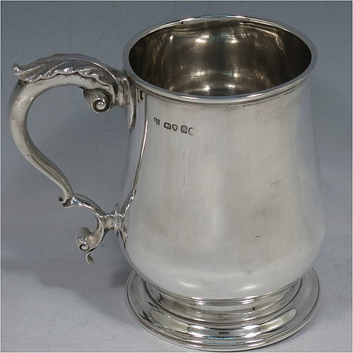Tankards And Mugs In Antique Sterling Silver Bryan Douglas