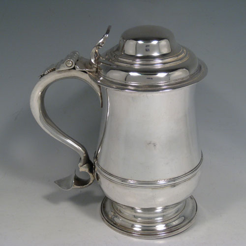 Antique Silver Tankards