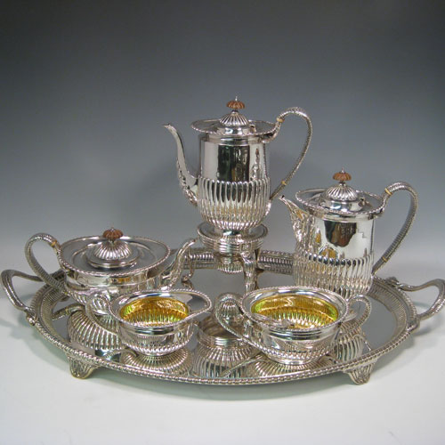 Antique Silver Tea and Coffee Sets