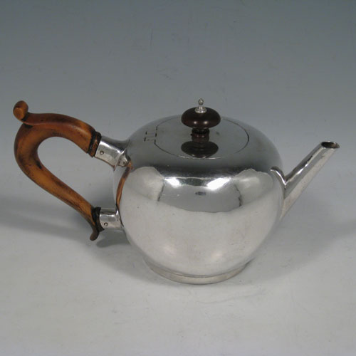 Teapots In Antique Sterling Silver Bryan Douglas Antique