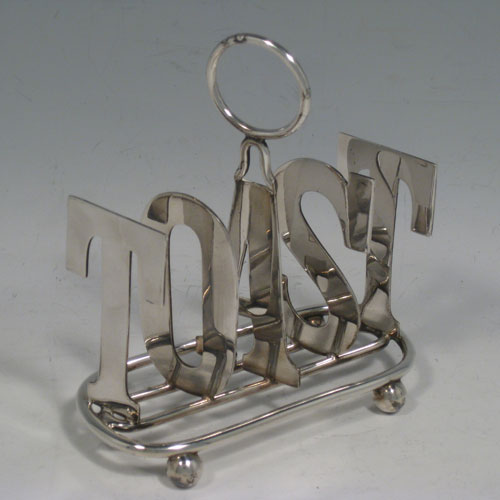 Toast Racks In Antique Sterling Silver Bryan Douglas