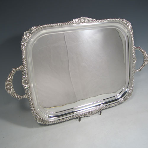 Super Trays in Antique Sterling Silver Bryan Douglas Antique Sterling  SM91
